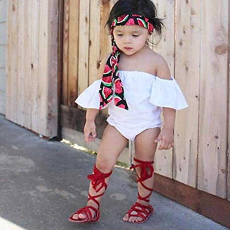 Smart Baby Fashion Anti-slip Soft Sole Leather Bandage Shoes Toddler Girl Tie Leg First Walkers Mother & Kids