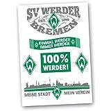 SV Werder Bremen Aufkleberset