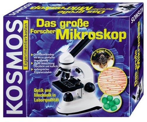 Kosmos geolino mikroskop test: experimente für zuhause mikroskop set