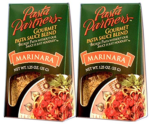 Pasta Partners Gourmet Marinara Pasta Sauce Blend Mix (2-pack) (Pasta Partners Garlic Angel Hair compare prices)