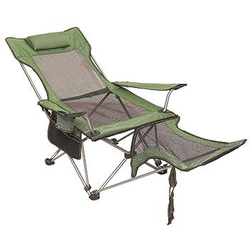 Amazon.com: PeiQiH - Silla plegable portátil para exteriores ...