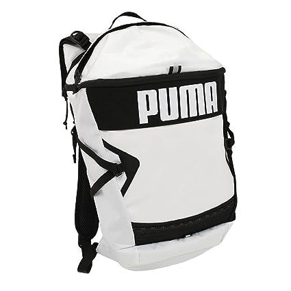 ee8161de2d5e Puma 22 Ltrs White Black Laptop Backpack (7488502)  Amazon.in  Bags ...