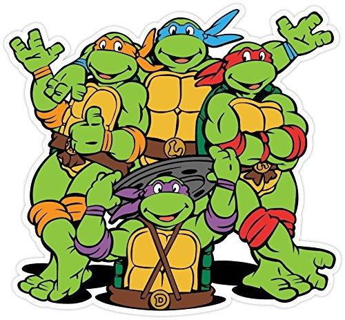 Teenage Mutant Ninja Turtles Cartoon Vinyl Sticker Decal 5