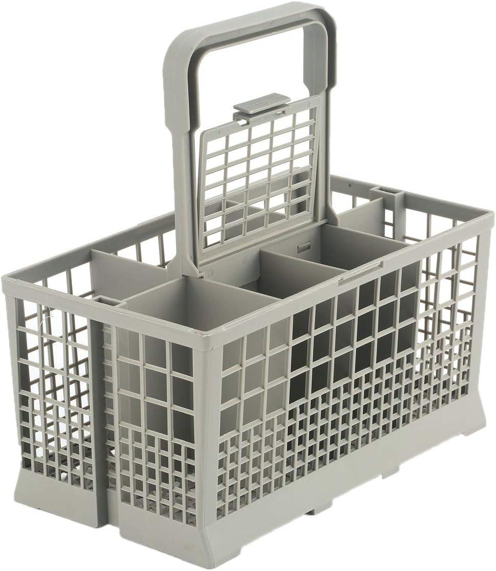 Panier /à Couverts Lave-Vaisselle SHHGHH Gris avec poign/ée
