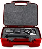 Life Made Better Storage Organizer - Compatible with GoPro Hero5 - GoPro Cameras And Accessories- Durable Carrying Case - Red