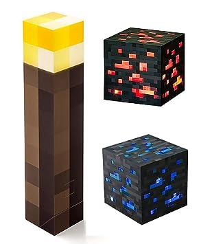Review ThinkGeek Minecraft Light-up Pack:
