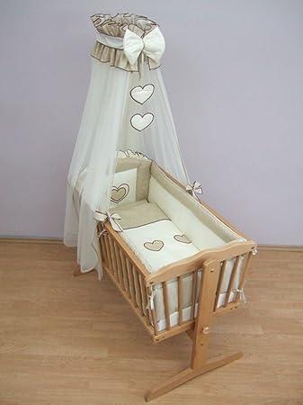 Bettwäsche Set 10 Teilig Für Babybettchen á 90 X 40 Cm Motiv