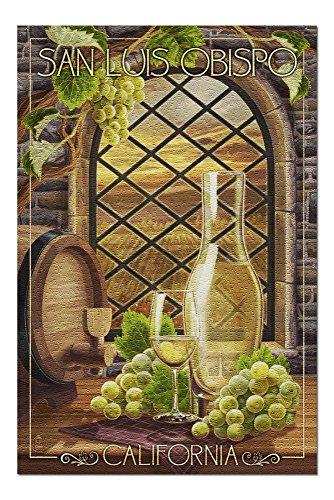 (San Luis Obispo, California - Chardonnay (20x30 Premium 1000 Piece Jigsaw Puzzle, Made in USA!))