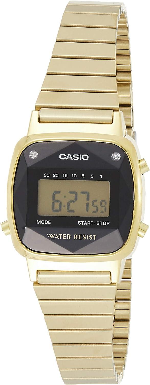 Casio Reloj de Pulsera LA670WEGD-1EF