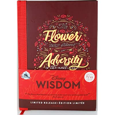 Disney Wisdom Journal - Mulan - February - Limited Release No Color: Toys & Games