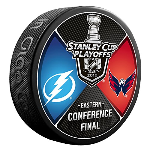 2018 Washington Capitals vs Tampa Bay Lightning Eastern Conference Finals Souvenir Hockey ()
