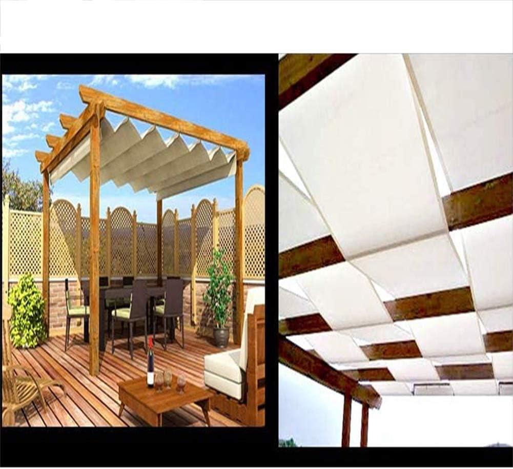 GDMING Exterior Toldo Vela De Sombra Tira Cubierta Impermeable Protección UV Intimidad Valla Decorativa por Jardín Kiosko Pabellón Persianas De Cortina Poliéster, 30 Tamaños: Amazon.es: Hogar