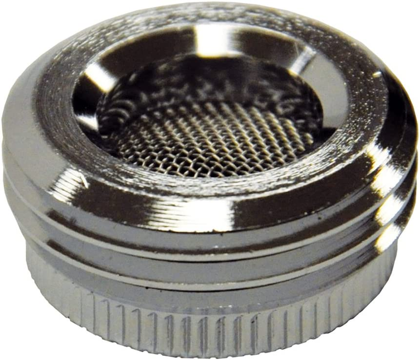 DANCO Garden Hose Adapter for Female to GHT Male, Chrome, 1-Pack (10512)