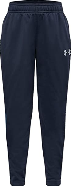 9-10 Years Grey New Under Armour UA Kid/'s Brawler Warm-Up Trousers