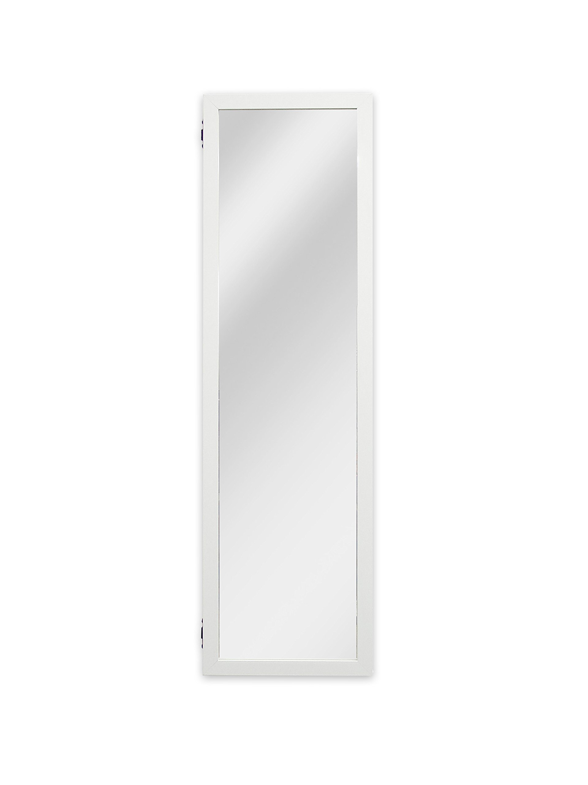 Plaza Astoria Wall/Door-Mount Jewelry Armoire, White by Plaza Astoria (Image #7)