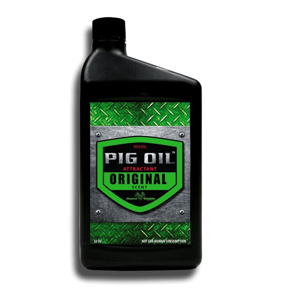 Elusive Wildlife Technologies, LP Pig Oil - Wild Hog Attractant