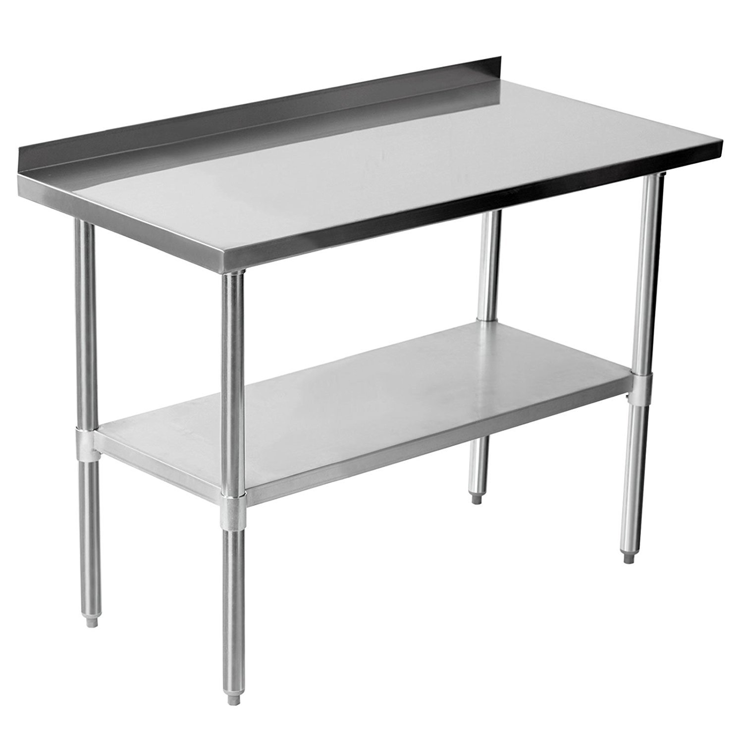Quattro Value Line 1200mm Wide Stainless Steel Catering Wall Bench