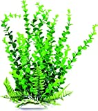AQUATOP AQUATIC SUPPLIES PD-BH32 003593 Elodea Aquarium Plant with Weighted Base, Green, 9""
