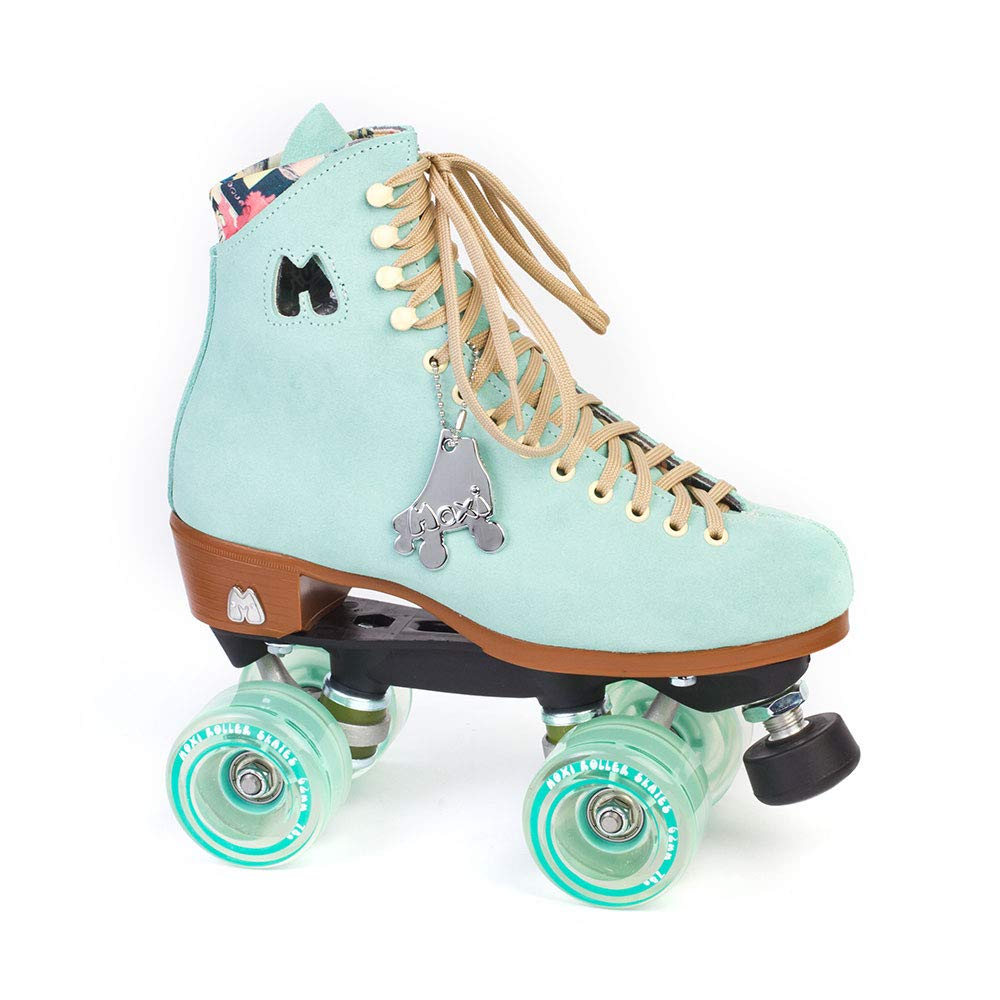 Moxi Skates - Lolly - Fashionable Womens Quad Roller Skate | Floss Teal | Size 9