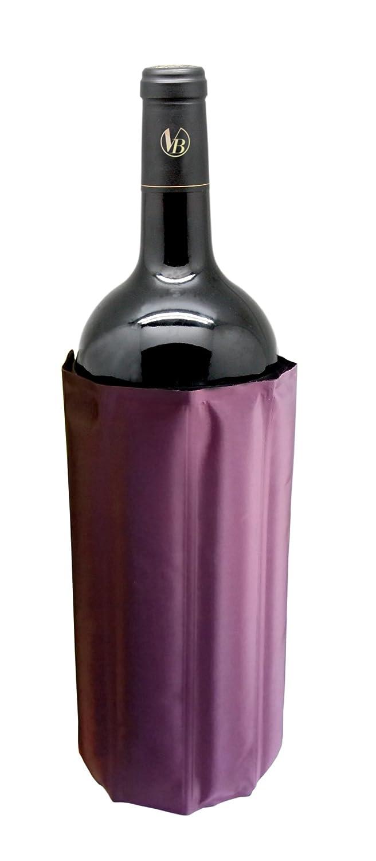 Bordeaux and Black Nylon Vin Bouquet Magnum Cooler 18.5 x 16 x 2 cm
