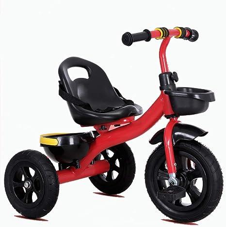 Axdwfd Infantiles Bicicletas Triciclo de niños Pedal de Bicicleta ...