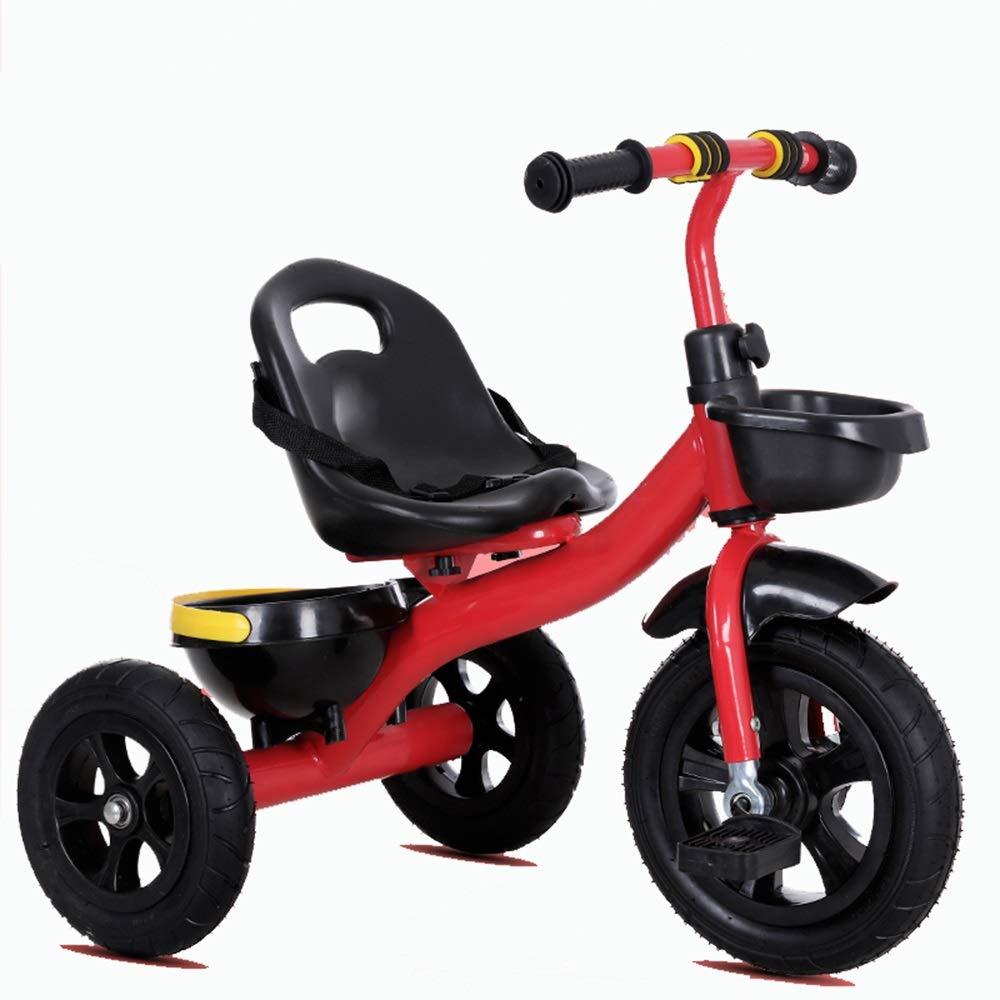 日本初の Axdwfd 子ども用自転車 Axdwfd 子ども用自転車 子供三輪車子供ペダル自転車2-5年古い、積載重量35キログラムベビーカー男の子女の子おもちゃの車 赤 B07Q171X5V B07Q171X5V, おしゃれ家具照明の快適ホームズ:00e1f603 --- senas.4x4.lt
