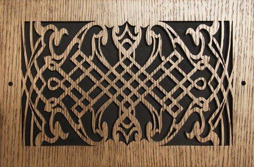 8 x 16 oak register - 7
