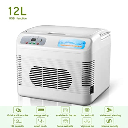 Amazon.es: 12-L Portatil 24V Camión Nevera Electrica PequeñA 12 ...