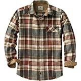 Legendary Whitetails Buck Camp Flannels Cedarwood Plaid Small
