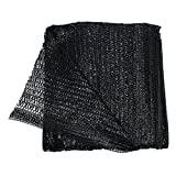 40% Black 6.5'x16' Sun Mesh Shade Sunblock Shade Cloth UV Resistant Net For Garden Flower Plant