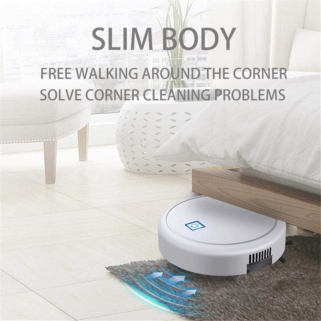 cicadi Balayage de la Maison Intelligente de Robot de Maison Automatique de Gommage essuyant Multi-Fonction Robots aspirateurs blanc