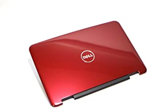 M76C7 NEW Genuine OEM Dell Inspiron N4050 M4040 Laptop Notebook Display Visual Monitor 14 Inch Rear Back RED Cover Top Panel Case Antenna Shielded Wire Support Performance LCD LID 60.4IU42.011