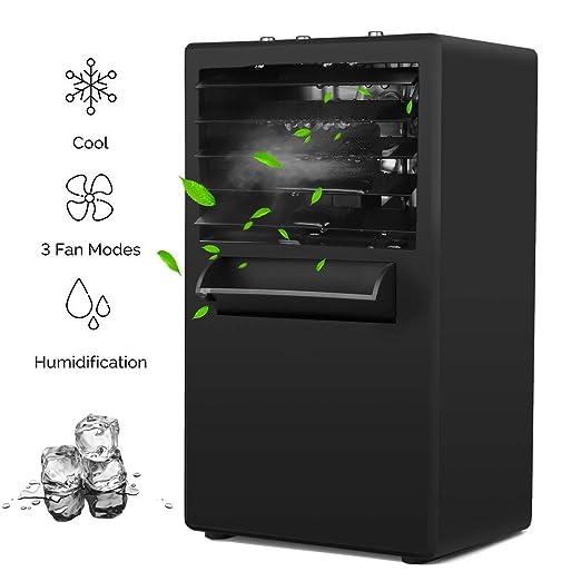 Amazon.com: KUUOTE Ventilador de aire acondicionado portátil ...