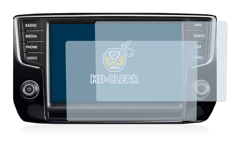2016 2 Pi/èces Anti-Trace Sans Bulles BROTECT Protection Ecran pour Volkswagen Discover Pro - HD Ultra-Clair
