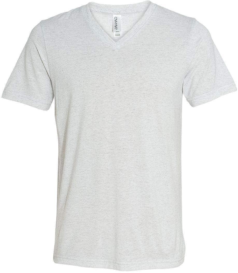 Yoga Clothing For You Mens Tri Blend V-Neck Tee Shirt