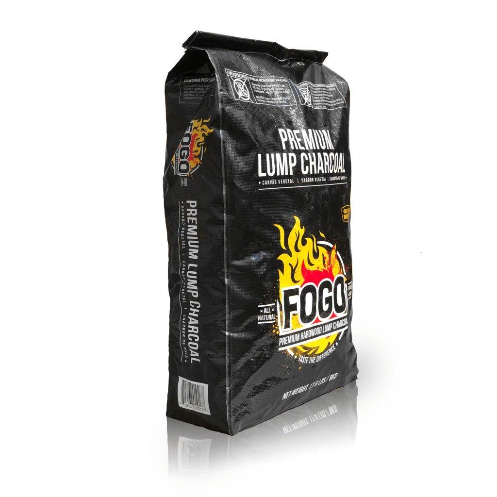 Fogo 17.6-POUND PREMIUM HARDWOOD LUMP CHARCOAL BLACK BAG