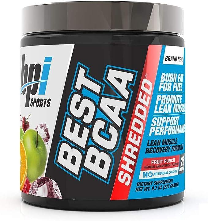 Amazon.com: La mejor fórmula de recuperación termogénica BCAA en tiras sin cafeína para el crecimiento muscular sin grasa, BPI Sports, 1, 1: Health & Personal Care