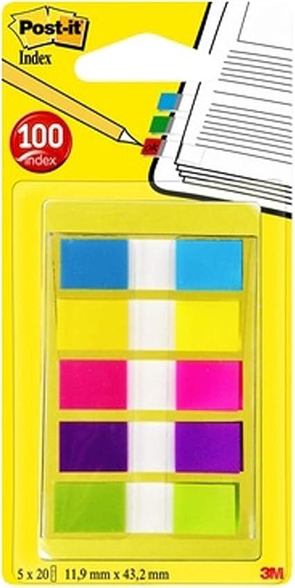 Post-It 680-2YGP color amarillo Dispensador 50 /índex color verde y 50