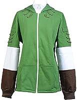 Cosplaybar Legend of Zelda Link Hoodie Zipper Coat Hyrule Jacket Costume
