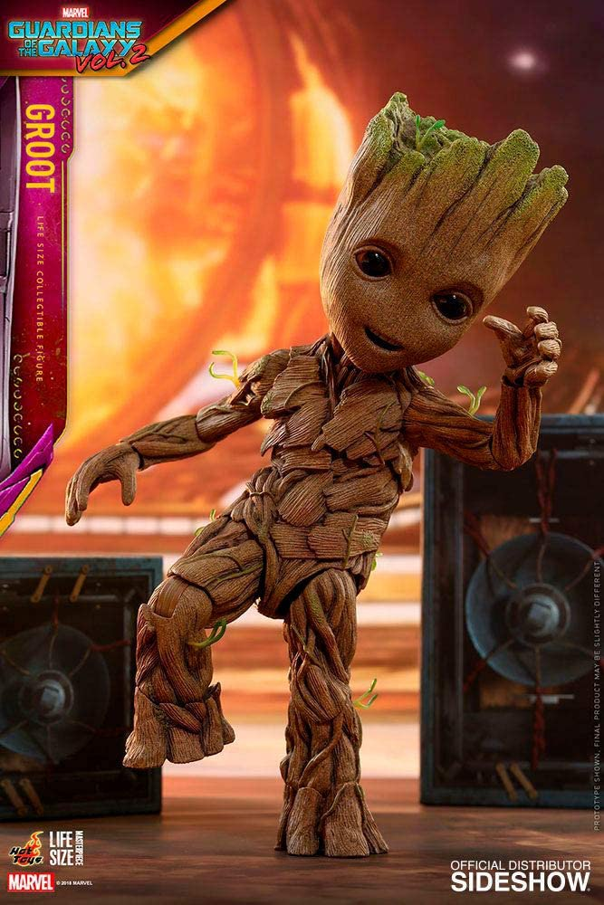 Guardians of the Galaxy 2 Life-Size Foam Figure Groot Neca DAMAGED