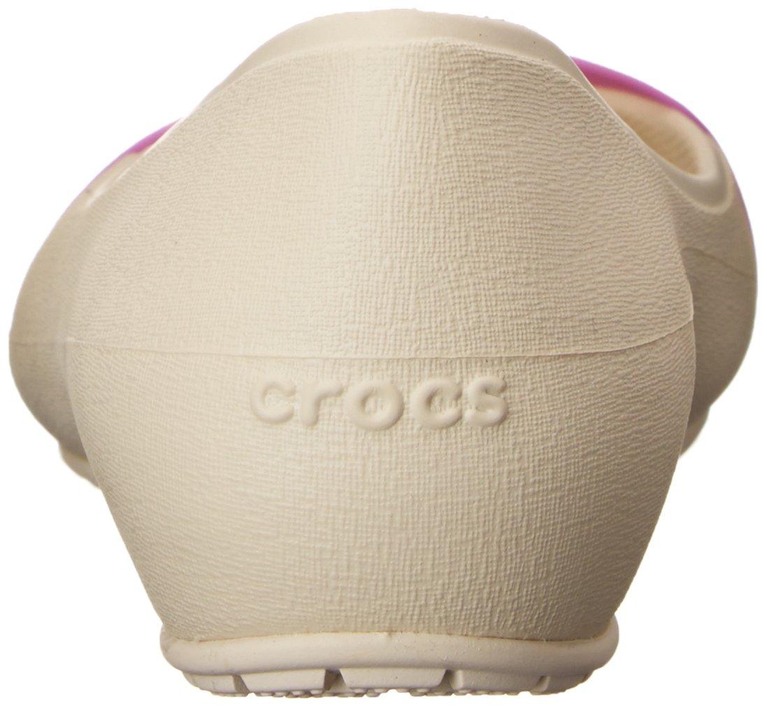 CROCS Schuhe - - Ballerina BRYNN FLAT - - schwarz Beige ff1a11
