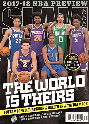Slam Magazine (November/December, 2017) The World Is Theirs Cover 2017-18 NBA Preview