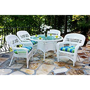 61BT%2BiTNe1L._SS300_ Wicker Dining Tables & Wicker Patio Dining Sets