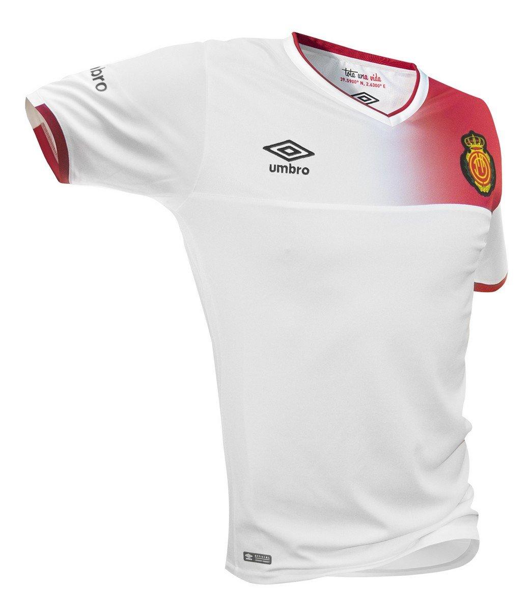 Umbro RCD Mallorca Away SS Jnr Camiseta de Fútbol Oficial, Hombre, Blanco, S: Amazon.es: Deportes y aire libre