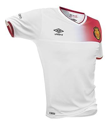 Umbro RCD Mallorca Away SS Jnr Camiseta de fútbol Oficial, Hombre ...
