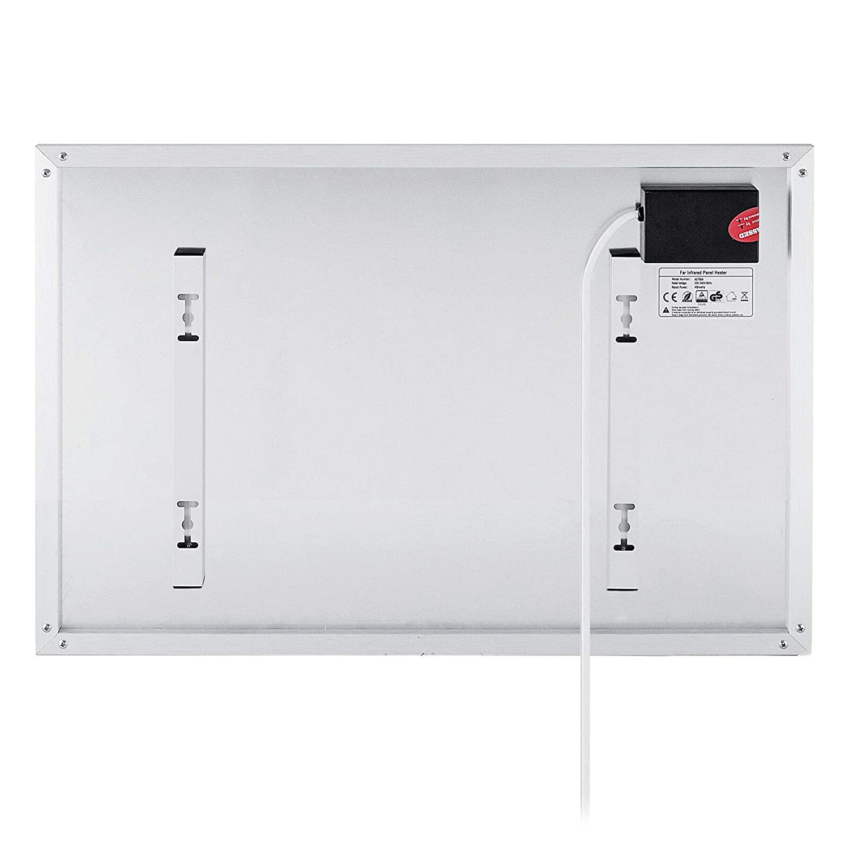 FlowerW 900W Infrarotheizung Heizpaneel Infrarot Heizk/örper Raumheizung Thermostat 450W