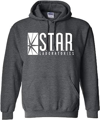 New York Fashion Police Star Labs Hoodie - Star Laboratories Hooded Sweatshirt