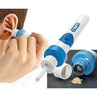 XGLL Limpiadores De Oídos Suave Consejos Eléctrico Oreja Herramienta De Eliminación De Ear Wax para Bebé Adulto