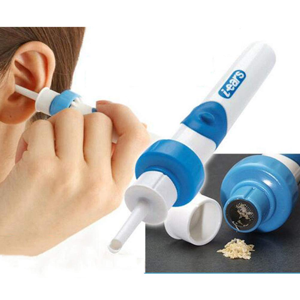 XGLL Ear Cleaners Soft Tips Electric Ear Pick Ear Wax Removal Tool For Baby Adult