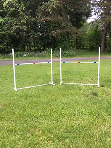 Dog Agility Equipment Single Bar Jumps | Set of 2 jumps by Dog Agility Shop, LLC (Image #3)
